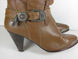 Vintage Rodeo Drive Slouch Boho Cowboy Boot Women Sz 6