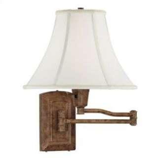 Kenroy Home Isabelle 16 Swing Arm Lamp in Sienna