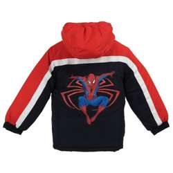 Marvels Spider Man Boys Hooded Coat