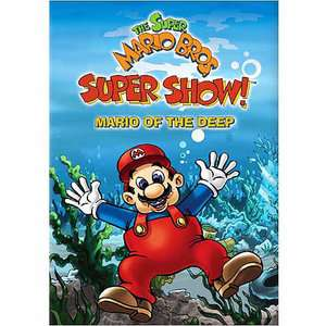 The Super Mario Bros. Super Show Mario Of The Deep