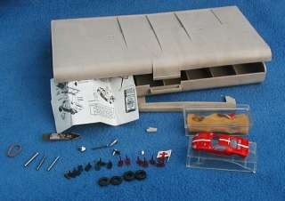 aurora t jet thunder jet model motoring Ho Slot Car Pit Kit PARTS LOT