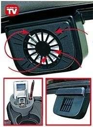 Auto Cool Solar Powered Car Fan