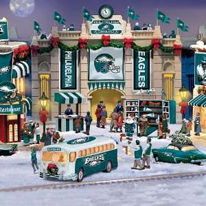 Collectible Philadelphia Eagles Christmas Village