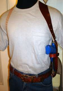 LEATHER SHOULDER HOLSTER 4 4 TAURUS 41/38/357 revolver |