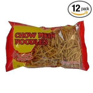 Sun Luck Chow Mein Fried Noodle, 6 Ounce Units (Pack of 12)