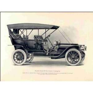 Reprint Franklin Model H six cylinder touring car 1909 Home & Kitchen