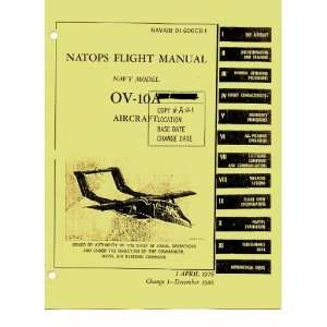 Aviation OV 10 Aircraft Flight Manual Sicuro Publishing Books