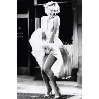 Marilyn Monroe Skirt Raise Poster