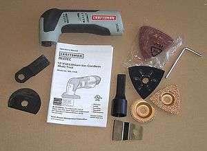 Craftsman Nextec 12.0 Volt Multi Tool plus Accessories