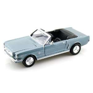 1964 1/2 Ford Mustang Convertible 1/24 Blue Toys & Games
