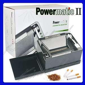Brand New Powermatic II 2 Electric Cigarette Injector Rolling Machine