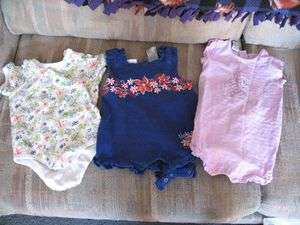 HUGE lot of girls size 18 months clothes baby toddler summer winter