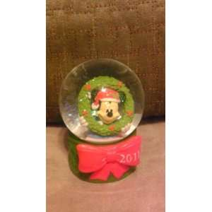 Disney Mickey Mouse 2011 Christmas Snowglobe from JC
