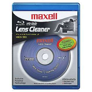 HD DVD & Blue ray Disc Lens Cleaner  Maxell Computers & Electronics