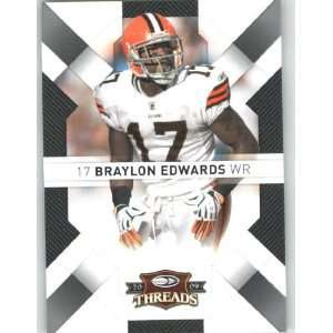 Braylon Edwards   Cleveland Browns   2009 Donruss Threads NFL Football