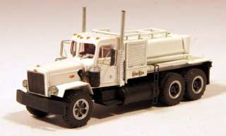 Peterbilt Construction Site Fuel & Lube Maintenance Truck 1/87