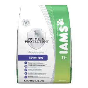 Iams Premium Protection Adult Dog Senior Plus, 11.7 Pound: