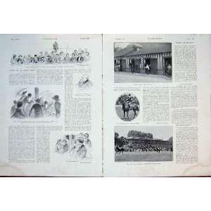Jockey Female Horse Race Jockeys French Print 1932