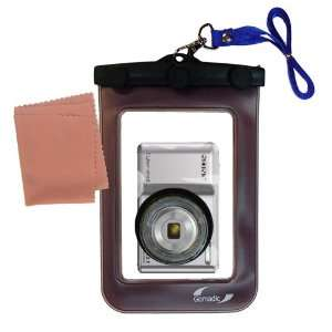 Gomadic Clean n Dry Waterproof Camera Case for the Sony Cyber shot DSC