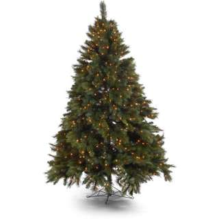 Holiday Time Prescott Pine Artificial Christmas Tree with Clear Lights