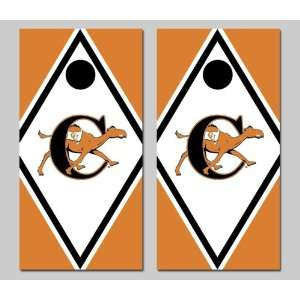 Campbell University Fighting Camels Cornhole Bag Toss Game