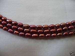 New Jay King Mine Finds 3 Strand Rose Pearls
