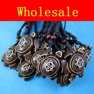 Wholesale12 pcs fashion Turtle baby pendant necklace WH26