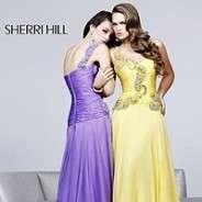 Sherri Hill 1460 Blue Embellished One Shoulder Gown Dress Sz 4 New NWT