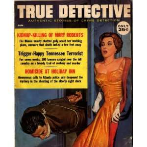 True Detective Magazine January 1961: John Shuttleworth: Books