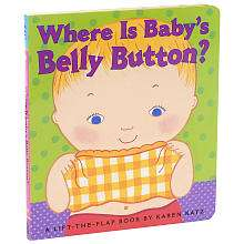 Babys Belly Button? Lift A Flap Book   Simon & Schuster   ToysRUs