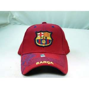 FC BARCELONA OFFICIAL TEAM LOGO CAP / HAT   FCB003 Sports