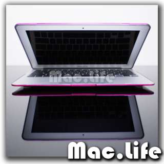 METALLIC HOT PINK Hard Case Cover for Macbook Air 11
