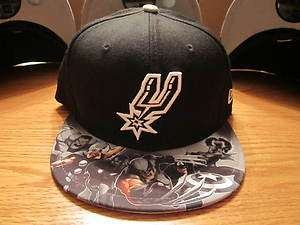 San Antonio Spurs New Era Hat NBA Marvel Comics NWT