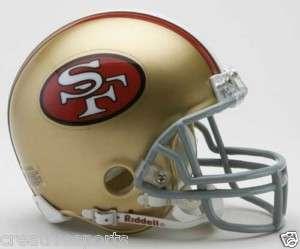 SF 49ERS 1964 1995 MONTANA NFL FOOTBALL MINI HELMET