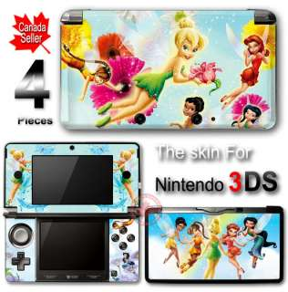 Tinkerbell SKIN VINYL STICKER DECAL COVER for Nintendo 3DS