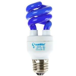 Sunlite SM11/B 11 Watt Mini Spiral Energy Saving CFL Light Bulb Medium