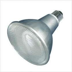 19W Compact Fluorescent PAR30 Bulb in Warm White Light Condition
