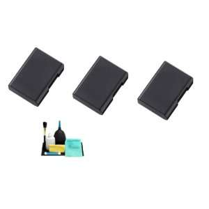 3 Pack Of Li Ion Extended Life Replacement Battery for Nikon