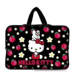 14 Strawberry Flower Pattern Hello Kitty Style Laptop