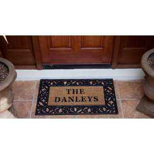 Doormat 22 x 36   Le Jardin   Personalized: Patio, Lawn & Garden