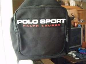 Ralph Lauren Polo Sport Canvas Messenger Bag