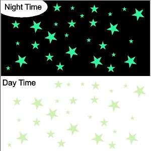 Glow In The Dark Stars Decal Sticker Removable Wall Art