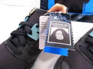 Adidas Originals Star Wars Emperor ZX 8000 Shoes US 5.5 Glow in the