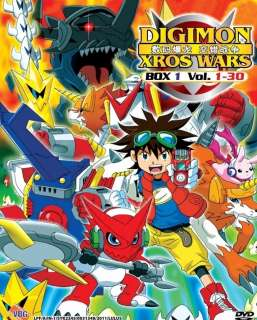 Digimon Xros Wars (TV 1   30) DVD R0 *NEW*