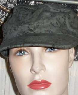 Alternative Punk Rock Goth Green Militant Hat Cap NWT