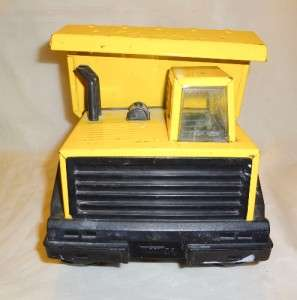 1980s LARGE TONKA TURBO DIESEL DUMP TRUCK ( METAL ) |