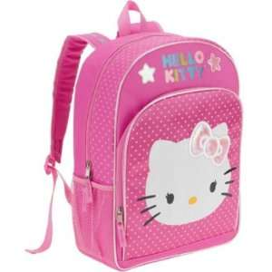Hello Kitty Polka Dot Bow Backpack: Toys & Games