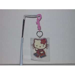 Hello Kitty Acrylic Keychain with clasp