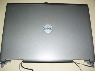 LAPTOP LCD SCREEN DELL D620 COMPLETE ASSEM. HINGES ECT