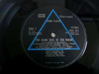 PINK FLOYD   the dark side of the moon, KOREA LP RED LINE COVER NM